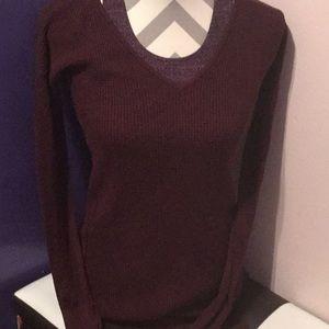 Lululemon v neck sweater